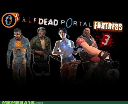 gabe-cant-count-to-three half life Memes team fortress valve video games