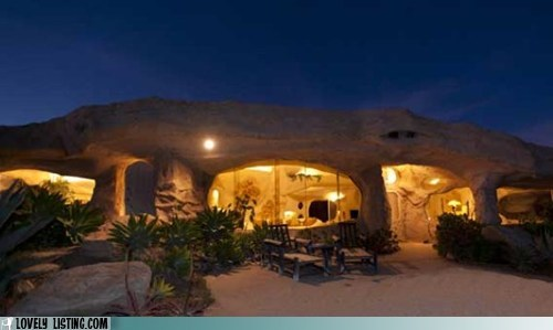 cave,dick clark,flintstones,for sale,rock
