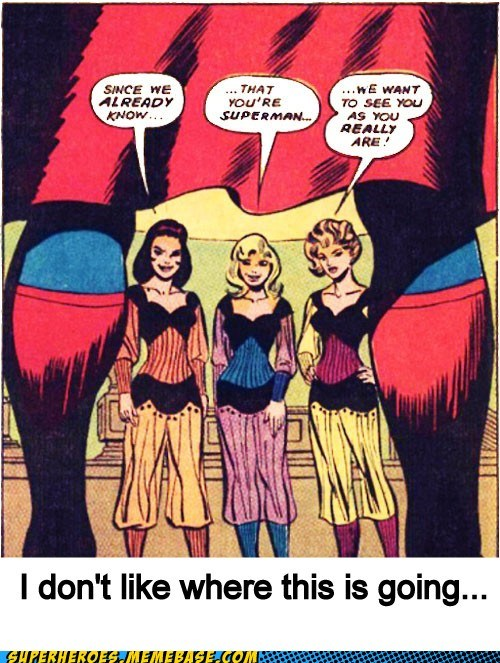 Sexy Ladies Super-Lols superman wtf - 5921346048