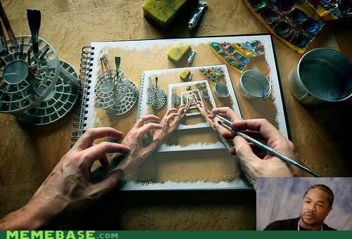 hands meme madness meta painting yo dawg - 5921350656