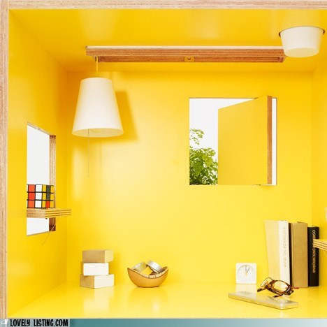 corner lamp table yellow - 5921484800