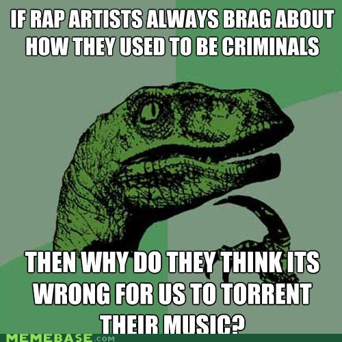 artists criminals meme madness philosoraptor round two theft - 5921513216