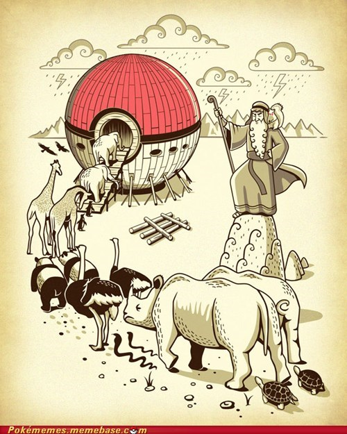 art gotta catch em all noah noahs ark
