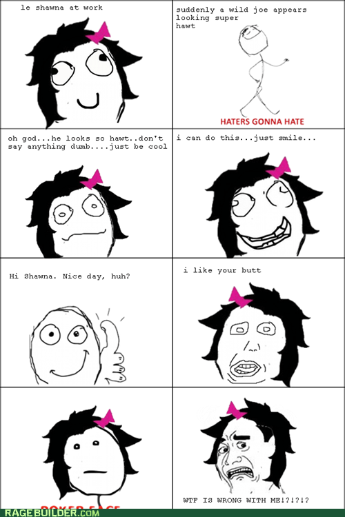 complement,haters gonna hate,Rage Comics,wtf