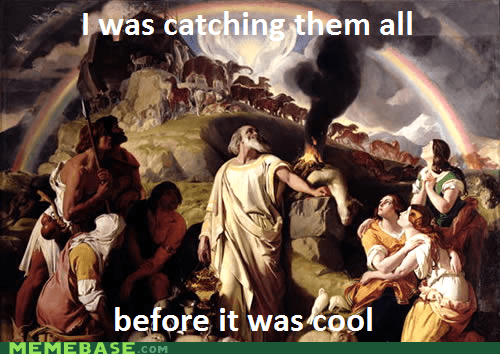 animals ark hipster Hipster Kitty Memes noah Pokémon - 5921725696