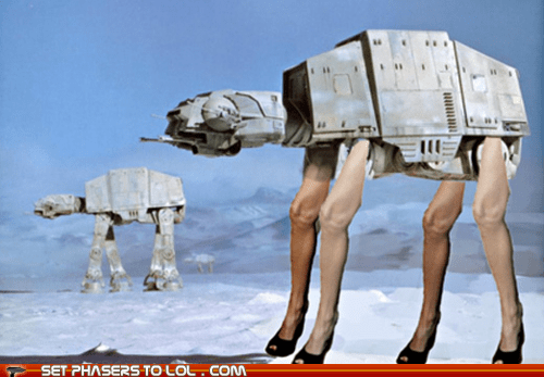 angelina-jolies-leg at at Hoth imperial walker star wars - 5921748224