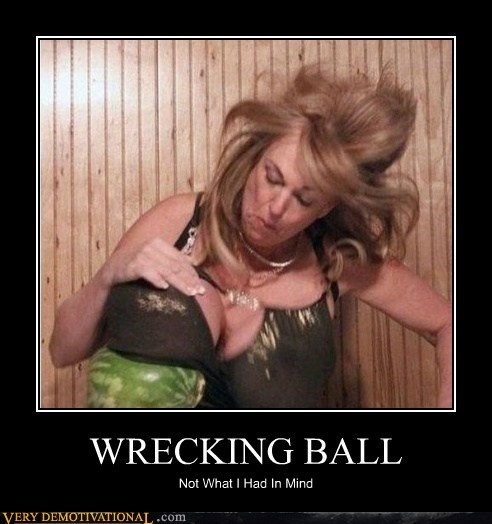 bewbs,hilarious,Water Melon,wrecking ball,wtf