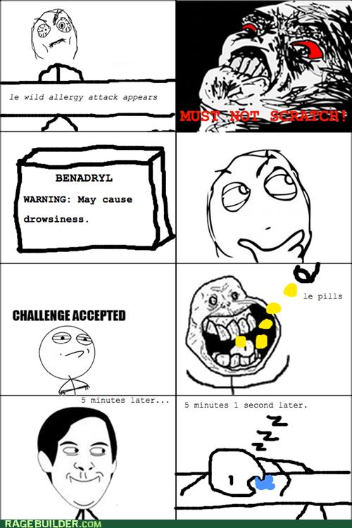 allergies Rage Comics raisin rage sleep spiderpman - 5922251776