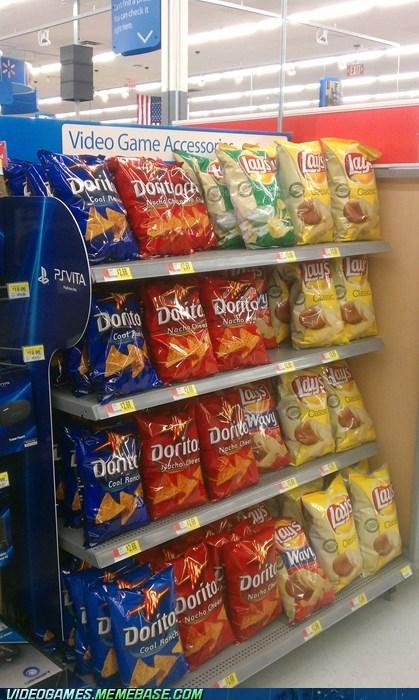 accessories chips doritos gamer fuel IRL mountain dew soda