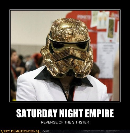 empire,Pure Awesome,saturday night fever,star wars,stormtrooper