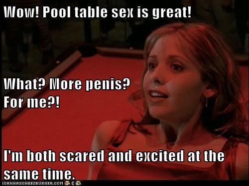 Sex on a pool table Nude Photos 63