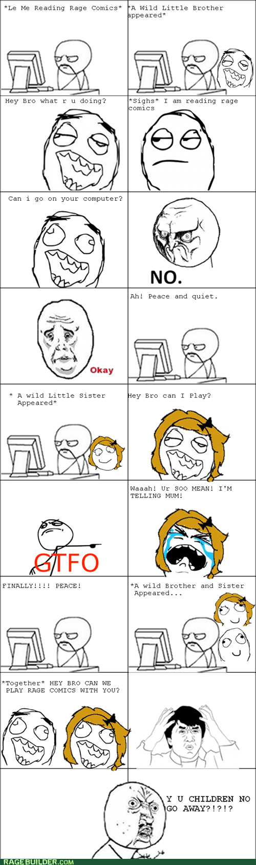 no,Okay,Rage Comics,siblings