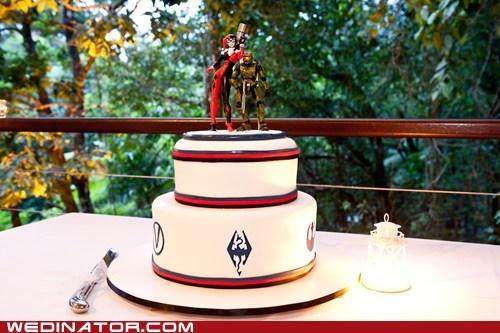 batman funny wedding photos halo Harley Quinn Skyrim wedding cake - 5923775488