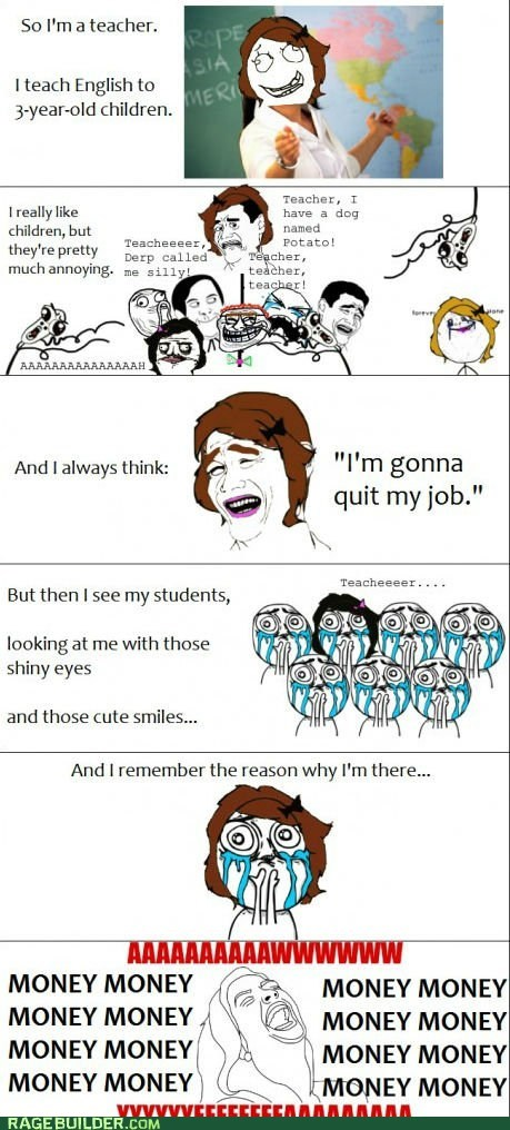 aww yeah best of week cuteness overload Rage Comics teaching - 5923959296