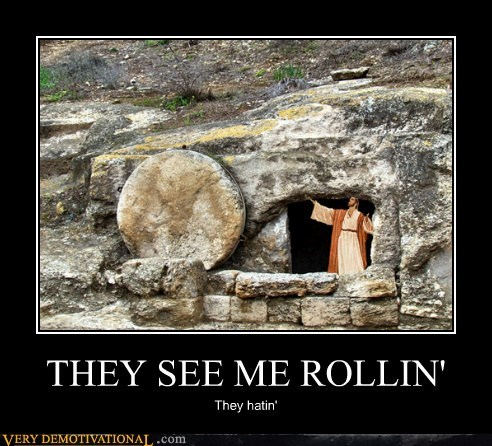 hating hilarious jesus rock rolling - 5924569856
