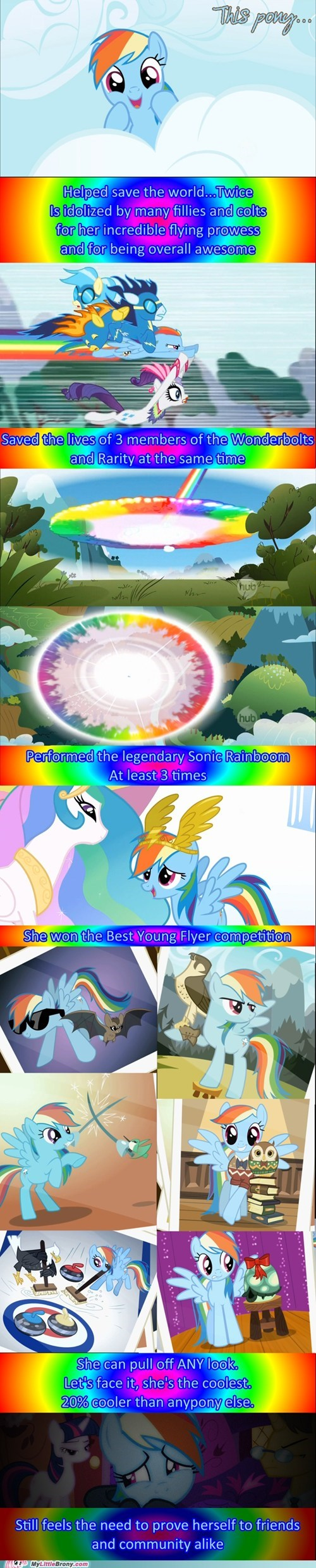 awesome comic comics pony rainbow dash twenty percent cooler