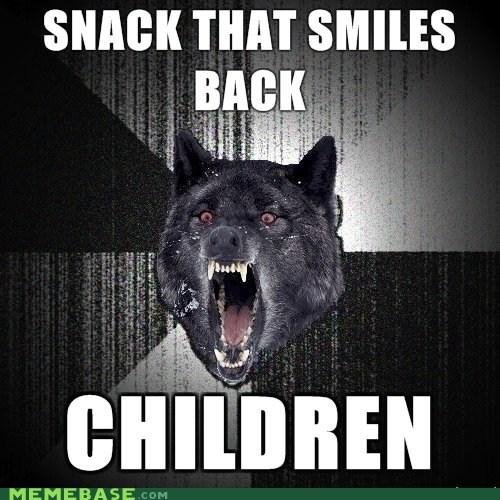 goldfish Insanity Wolf meme madness - 5925182976
