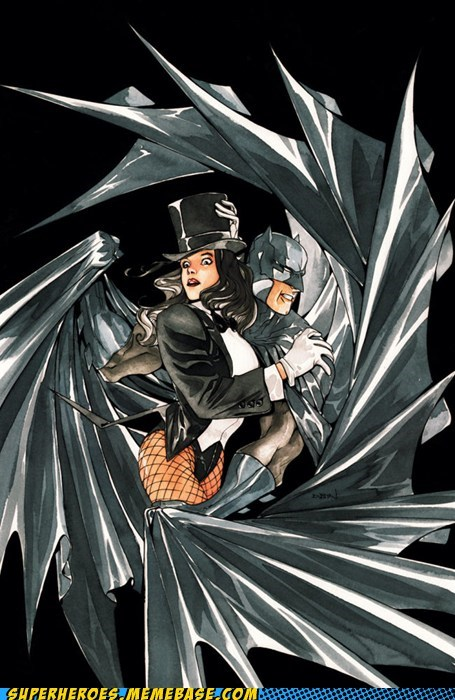 BatMan and Zatanna Zatara