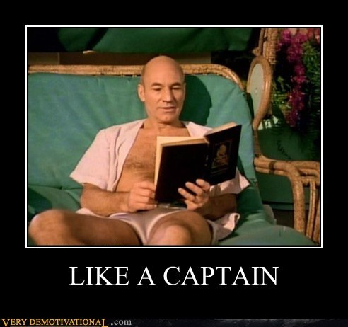 book Captain Picard hilarious shorts wtf
