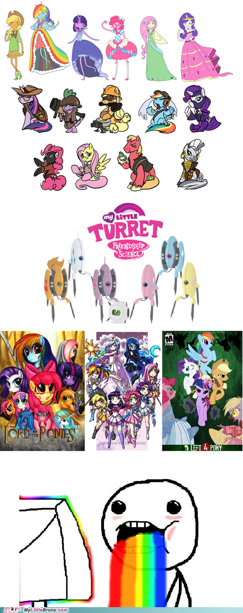 awesome,best of week,crossover,my little pony,the internet