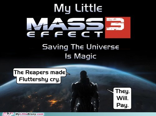 best of week fluttershy mass effect 3 meme reapers video games