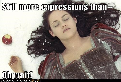 kristen stewart,movies,snow white,snow white and the huntsman,still more expressions,wait