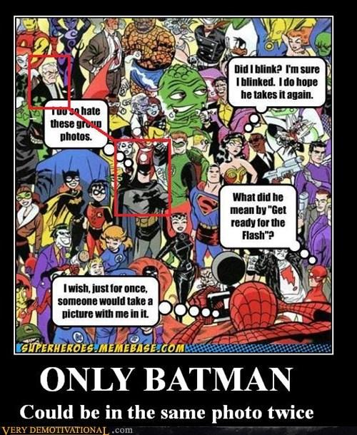 batman bruce wayne same photo twice funny - 5926969856