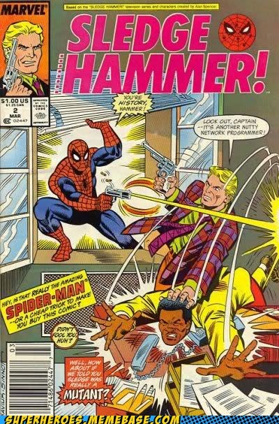 hammer Spider-Man Straight off the Page wtf - 5927087616