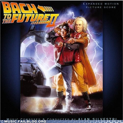 Bach,back to the future,classical,michael j fox,pun