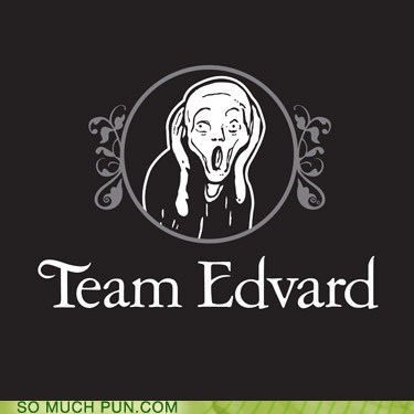 edvard Edvard Munch edward Hall of Fame scream team The Scream twilight - 5927635712