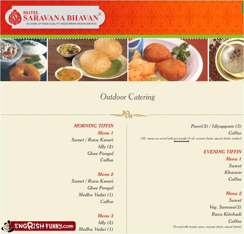 indian indian food menu poori restaurant
