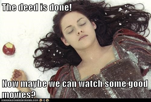 dead deed good movies kristen stewart snow white snow white and the huntsman