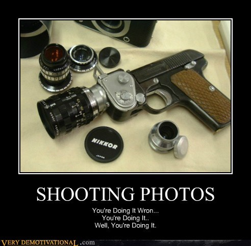 camera gun photos Pure Awesome shooting
