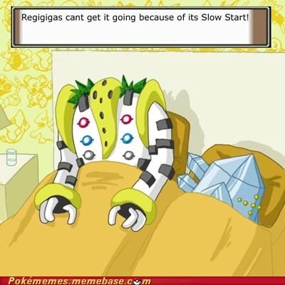 ability in bed Pokémans regice regigigas sexy times slow start - 5928962048