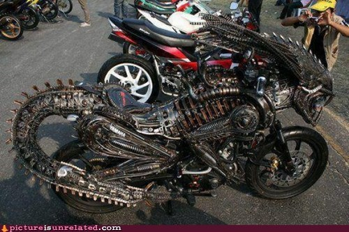alien,best of week,bike,motorcycle,Movie,wtf
