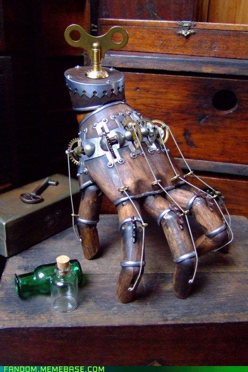 anatomy Fan Art hand Steampunk - 5929232128