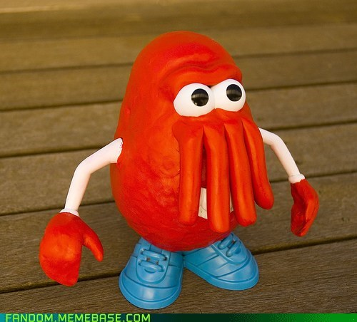 Fan Art futurama mr potato head Zoidberg - 5929313536