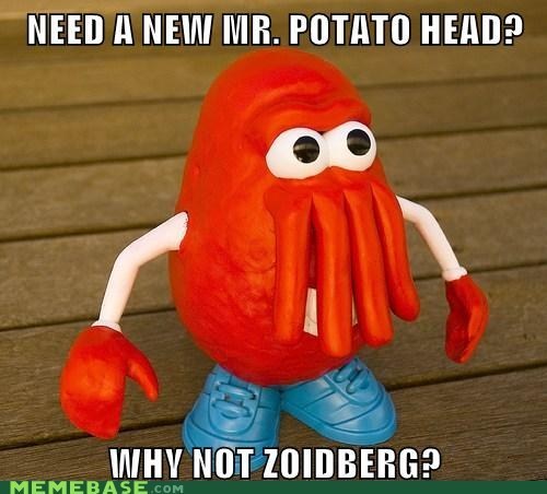 fries fry futurama potato Zoidberg - 5929325056