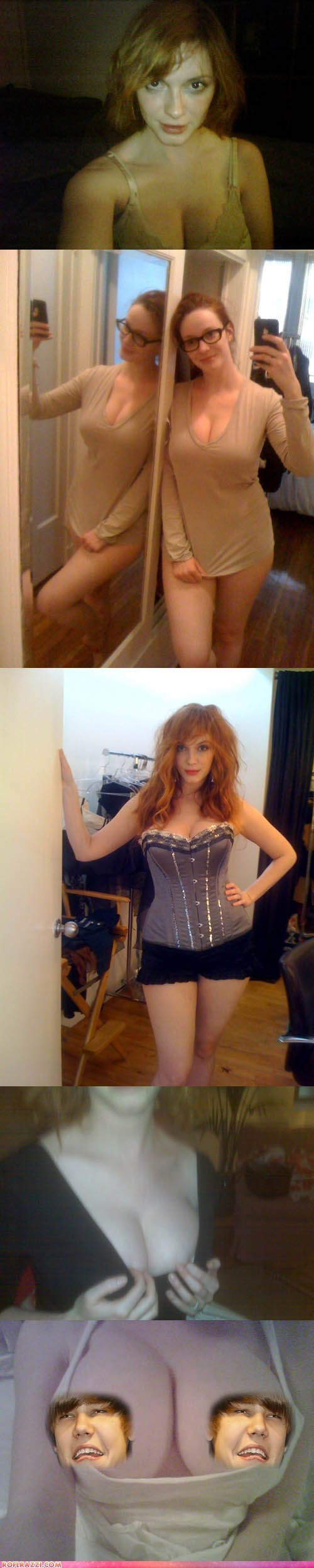 celeb,Christina Hendricks,hacked,Hall of Fame,leak,Photo,topless