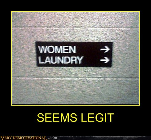 hilarious laundry seems legit women - 5930325760