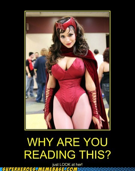 bewbs,costume,scarlet witch,Sexy Ladies,Super-Lols