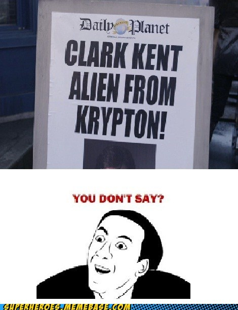 alien Clark Kent krypton Super-Lols - 5930724608