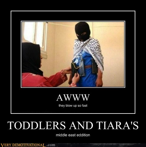 hilarious middle east tiara toddler wtf