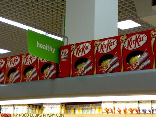 candy,chocolate,healthy,kit kat,mislabeled,store