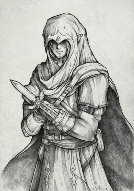 assassins creed best of week crossover Fan Art link the legend of zelda video games - 5931430400