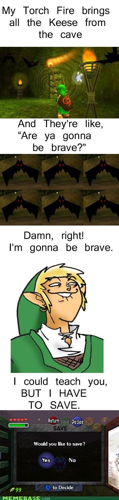 cave fire keese Memes milkshakes torch zelda