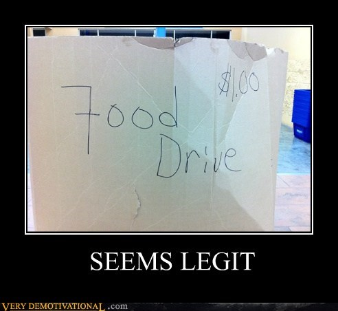 drive food hilarious seems legit