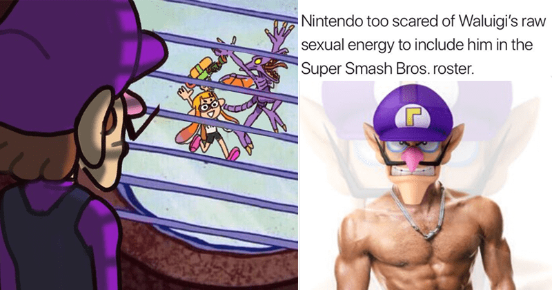 super smash bros gaming news super smash bros ultimate gaming e3 dank memes Memes waluigi waluigi memes know your meme video games Reddit nintendo - 5932037