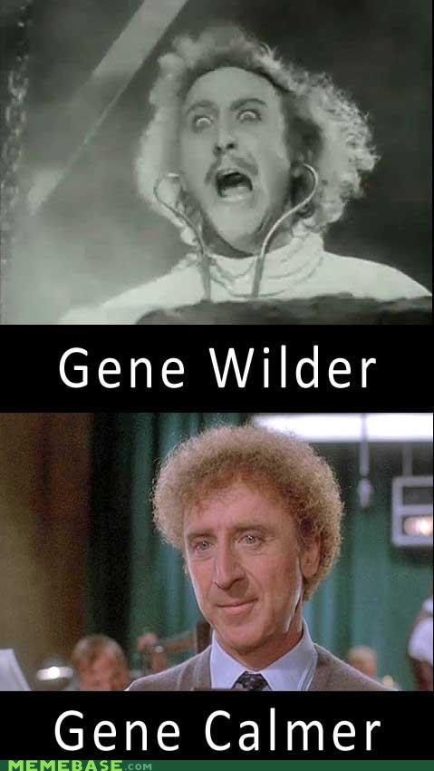 actor,calmer,frankenstein,gene,gene wilder,Memes