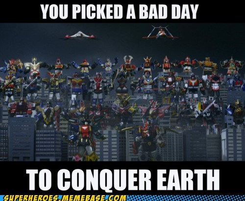 bad day Japan power rangers superheroes Super-Lols - 5932714496
